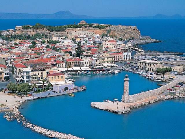 Panoramic view of Rethymnon